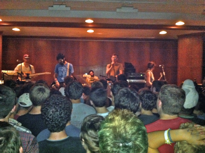 Titus Andronicus at the First Unitarian Church, Philadelphia, Sept. 23, 2010